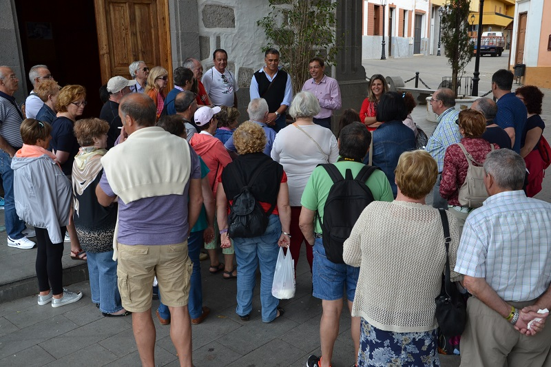 La oficina de turismo de valsequillo recibe m s de tres for Oficina turismo canarias