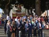 San Miguel recorre Valsequillo sobre el primer paso construido en Canarias