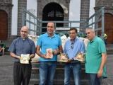 Valsequillo entrega 1418 kilos de gofio como ofrenda a la Virgen del Pino