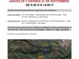 CORTE DE LA CARRETERA GC-41