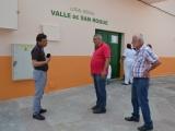 Obras de reforma en Local Social de San Roque.