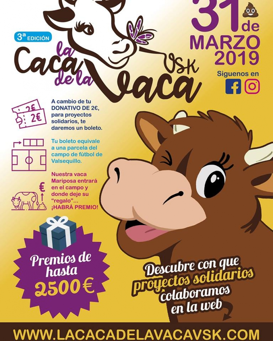 Cartel Caca de la Vaca 2019