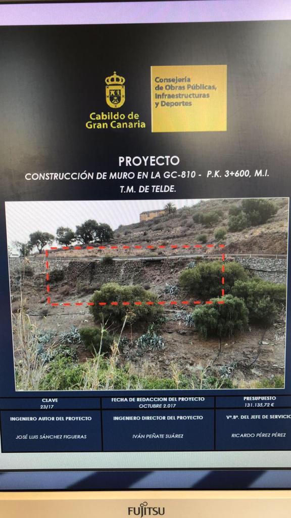 Proyecto muro San Roque