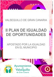 Banner II Plan de Igualdad