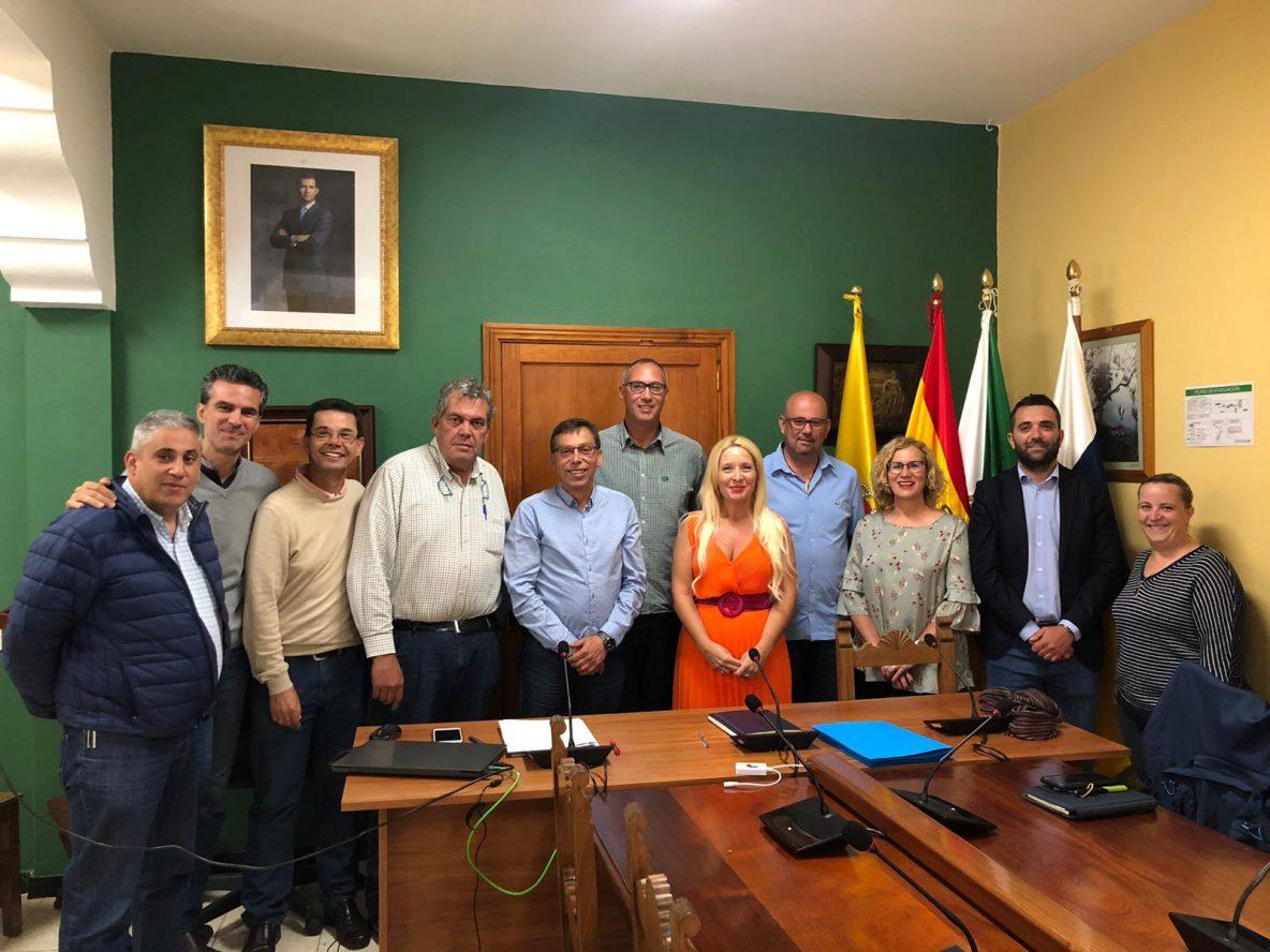 Foto de familia último pleno corporación 2016-2019