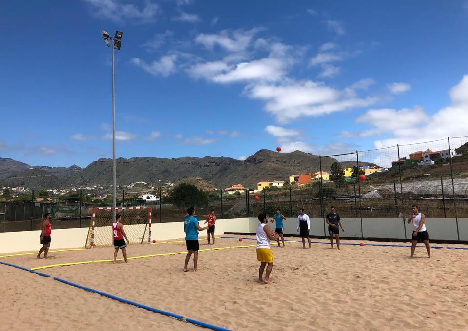Deportes en la arena