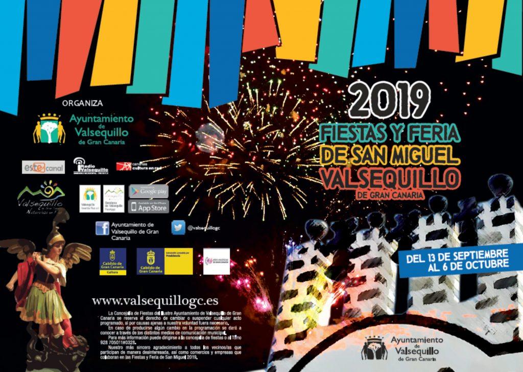 Portada programa san Miguel 2019