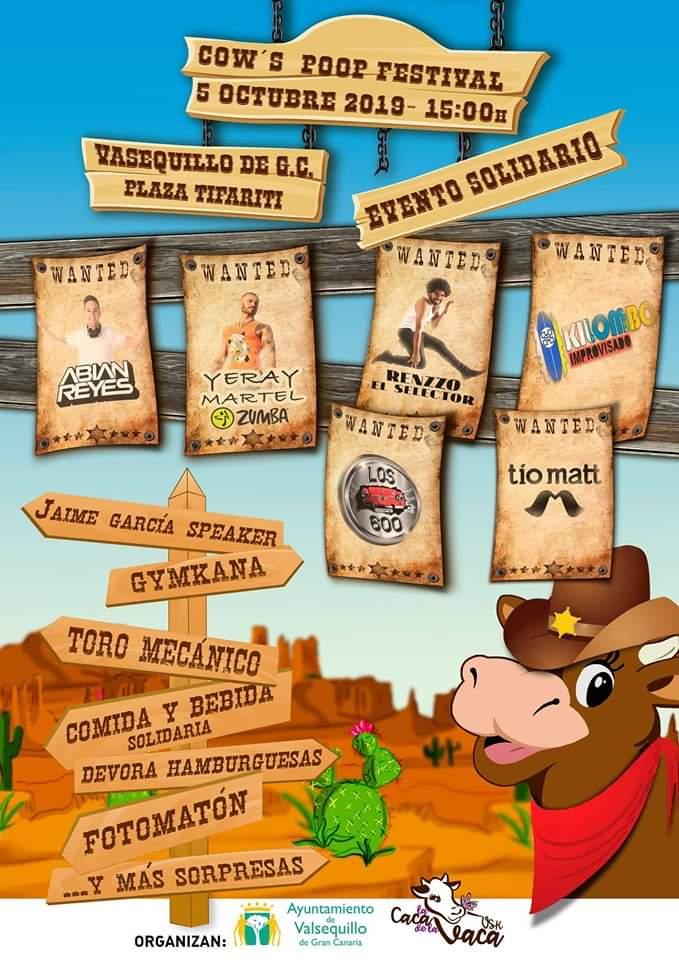 cartel festival cow's poop 2019