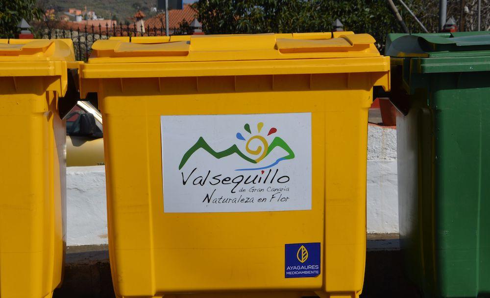 contenedor envases ligeros - basura - reciclado