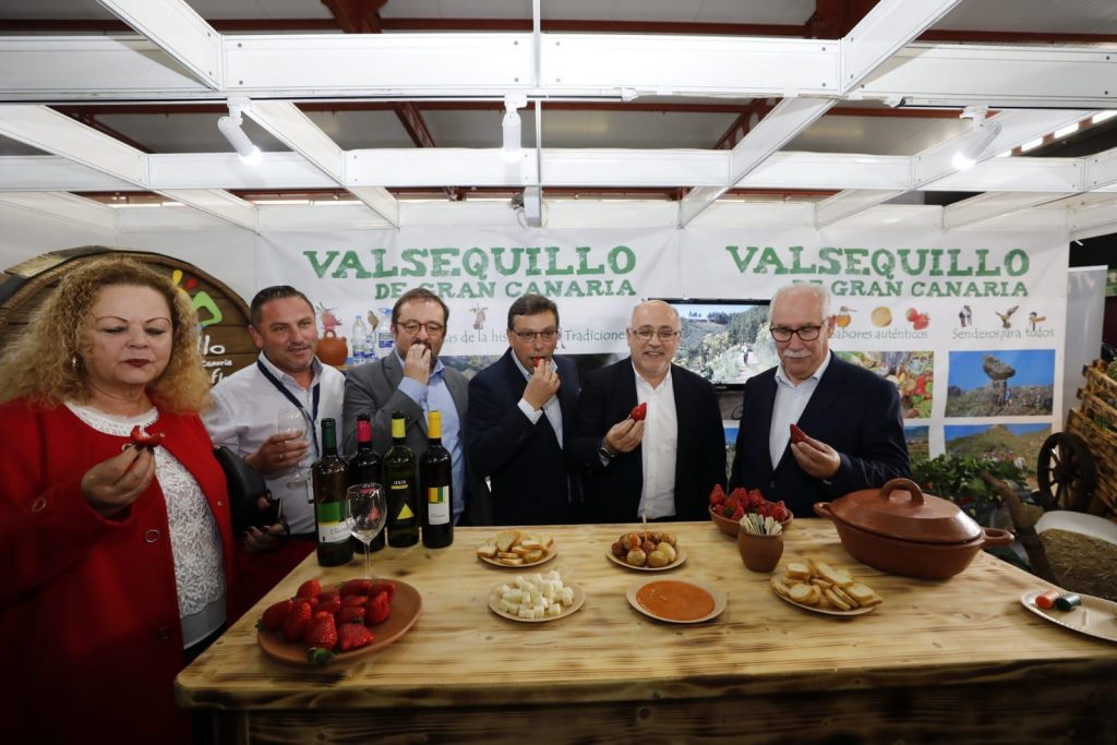 stand Ayuntamiento Valsequillo Feria Gran Canaria Me Gusta