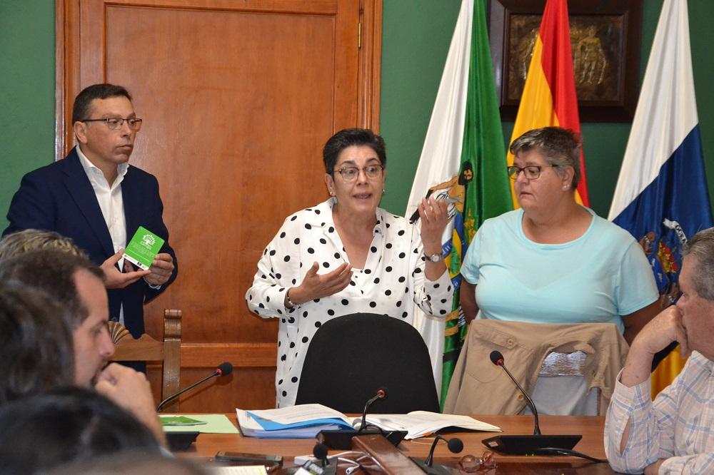 pleno municipal y presentacion asociacion juntas