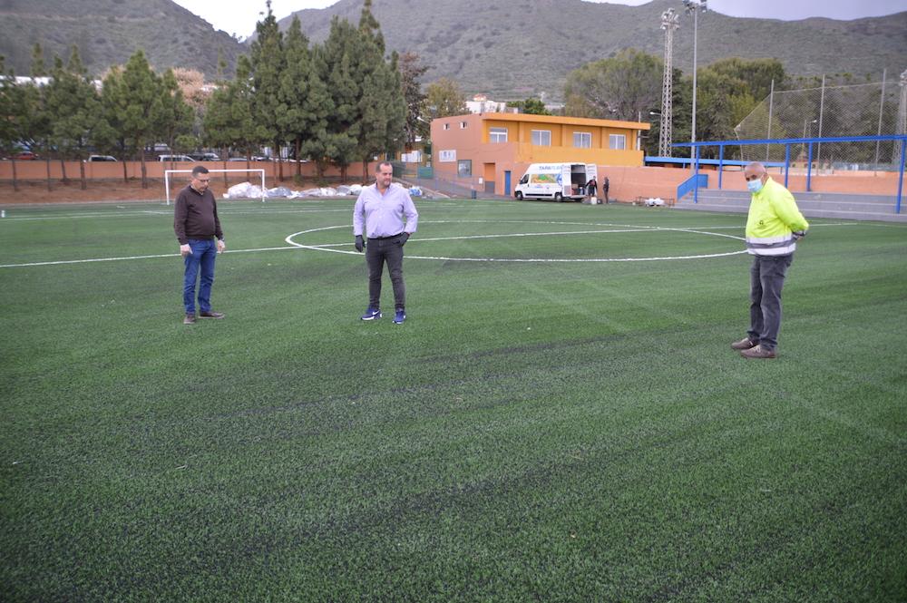 Visita campo de fútbol