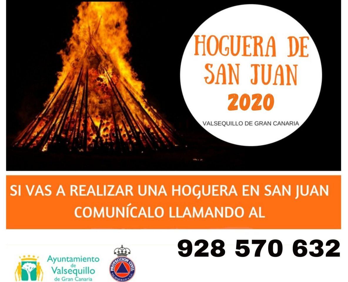 cartel hogueras san Juan 2020