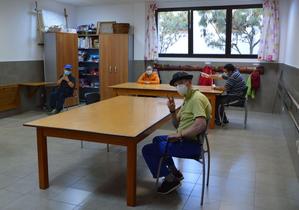 reinicio Centro Ocupacional Valsequillo