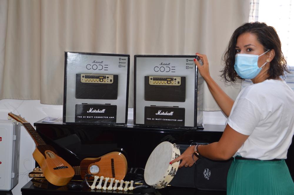 Foto subvención instrumentos musicales