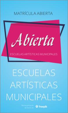 Matrícula Escuelas Artísticas