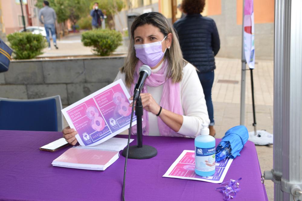 Concejala de Igualdad habla por Radio Valsequillo