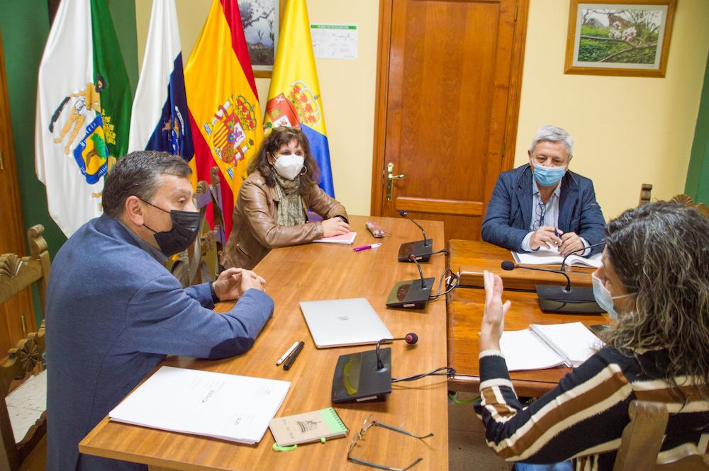 """Featured image for """"La consejera de Vivienda del Cabildo visita Valsequillo para conocer los proyectos del municipio"""""""