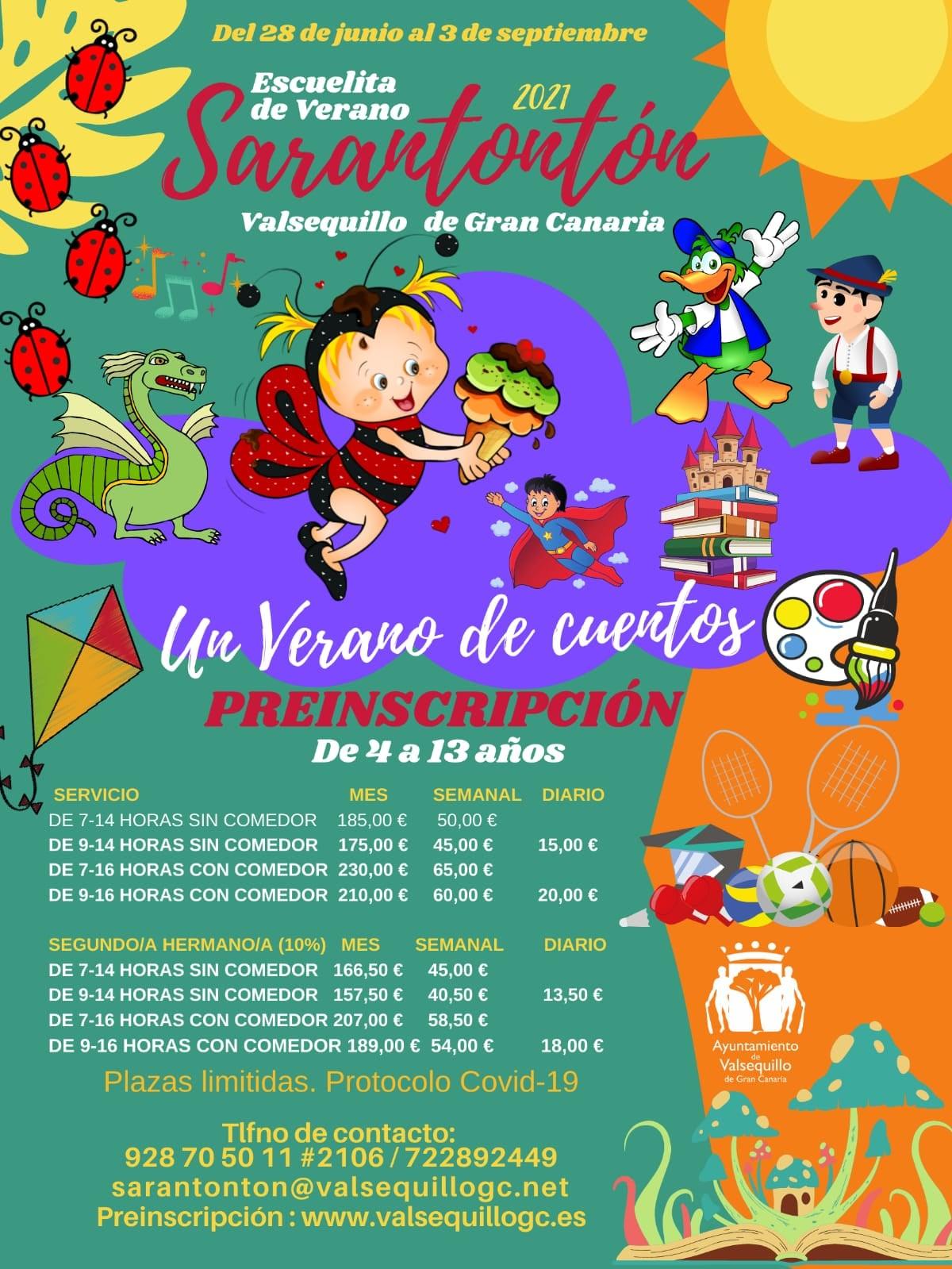 """Featured image for """"Valsequillo prepara un verano de cuentos"""""""