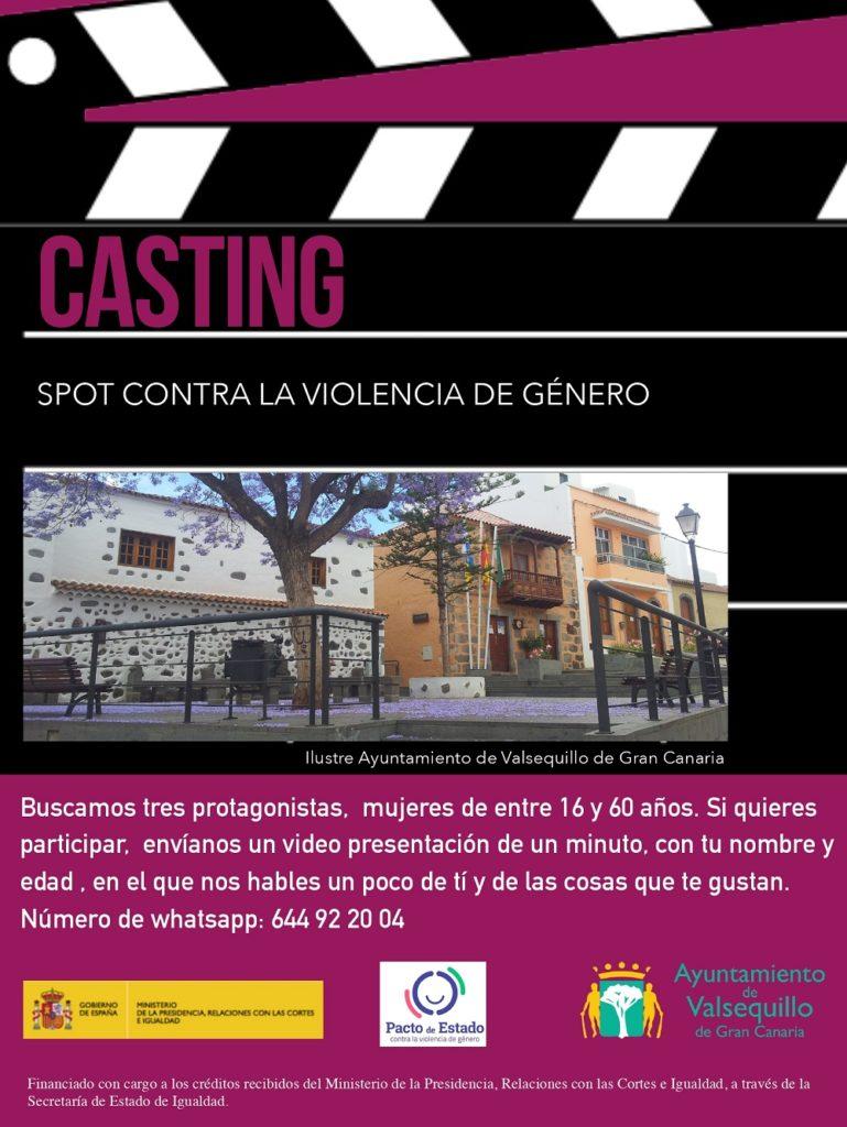 Casrtel casting spot contra violencia de género